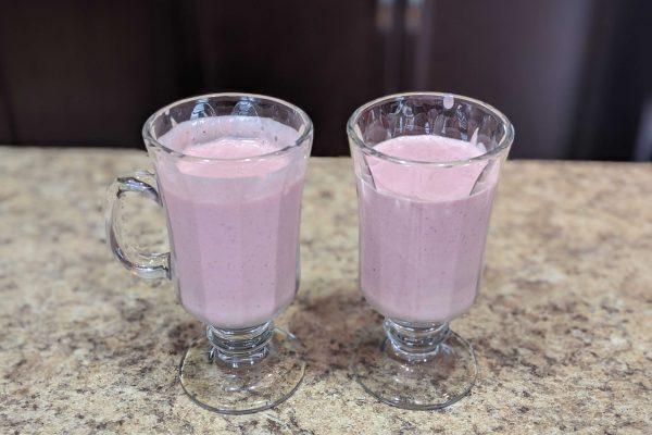Smoothie au yogurt grec